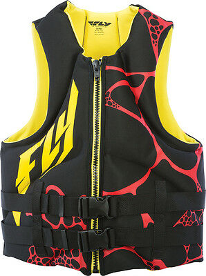Fly Racing Neoprene Vest Yellow/black Xs