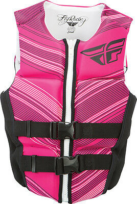 Fly Racing Ladies Neoprene Vest Pink/blacxs
