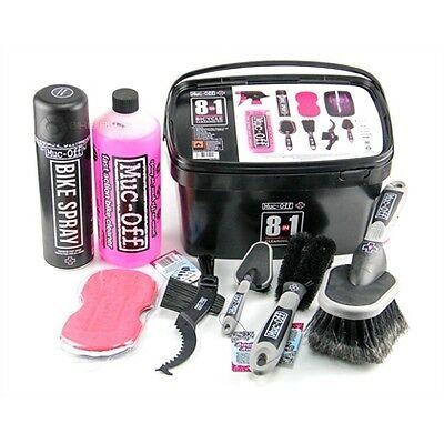 Muc-Off 8-in-1 Bicycle Cleaning Kit   shMO250    A31j