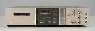 Pioneer Model CT-6R Cassette Deck Player Recorder, For Parts or Repair