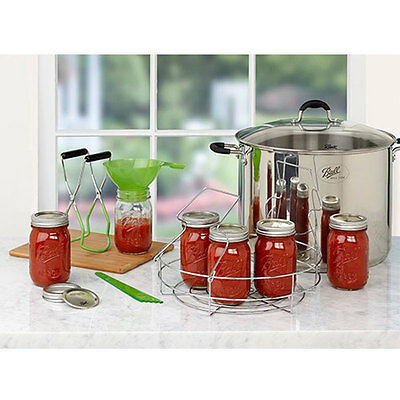 Canner Ball Mason Deluxe Home Preserving Kit for Stove Top Use