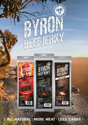 5 Bags of Byron Beef Jerky