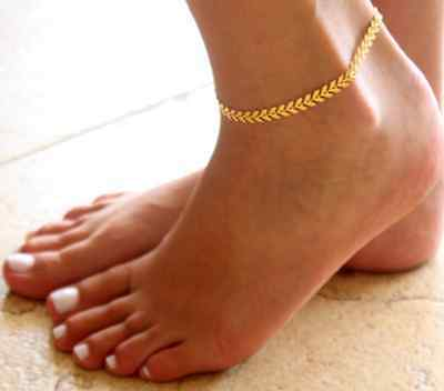 Women Barefoot Arrows Ankle Chain Anklet Bracelet Foot Jewelry Sandal Beach