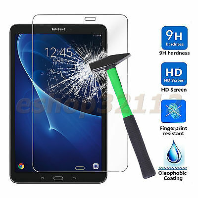 Samsung Galaxy Tab A 10.1 SM-T580/T585 HD Clear Tempered Glass Screen Protector