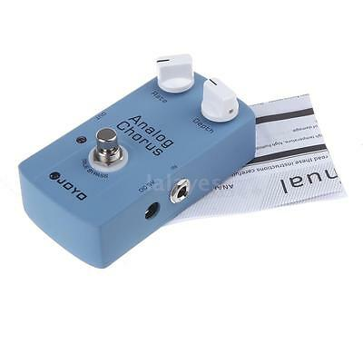 JOYO JF-37 ANALOG CHORUS Electric Guitar Effect Pedal with True Bypass ^ Z2G7