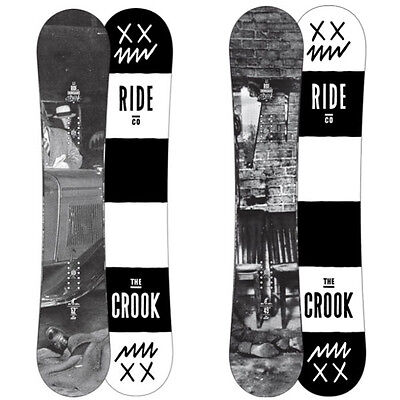 Ride Crook Snowboard Rocker New 2014 All-Mountain Freestyle