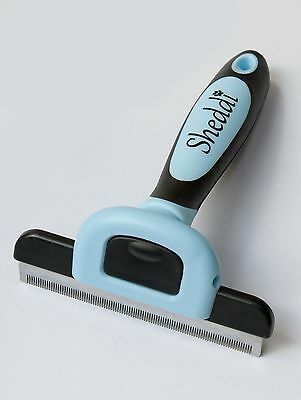 Deshedding & Pet Grooming Tool Suitable For All Sizes of Dogs & Cats With Sho...