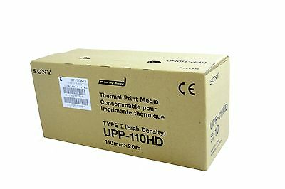 **ORIGINAL SONY** UPP-110HD BLACK & WHITE THERMAL PAPER 10 rolls/box