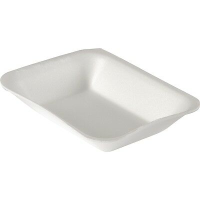 125 x Chippy Tray Foam Polystyrene CHIPS Tray's  White  CT3 CT2 CT1