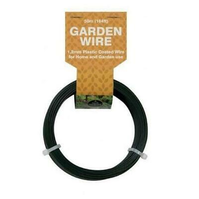 W0585 Garland 50m Garden Wire 1.2mm PVC Coated Dispenser