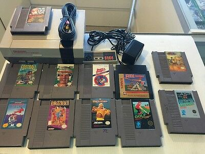 Nintendo NES With New 72 Pin And One Controller 11 Games