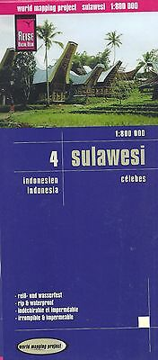 Map of Sulawesi - Clebes, Indonesia, by Reise Know How Maps