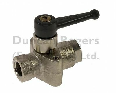 "Legris Panel Mounted Lever Ball Valve 1/8"" - 1/2"" BSP"