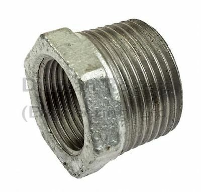 Malleable Iron Reducing Bush Fittings with Male/Female BSP Threads