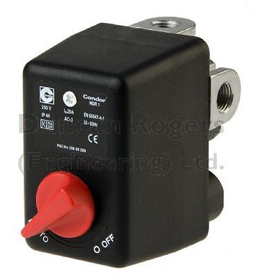 Condor MDR1 Pressure Switch for Air Compressor
