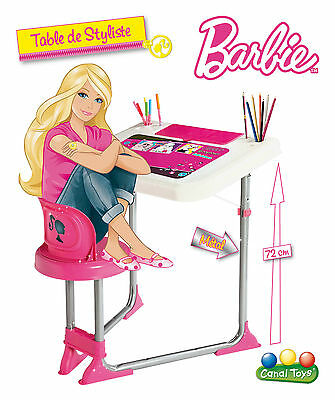 New Boxed Original Barbie Folding Desk/chair Set In Gift Box