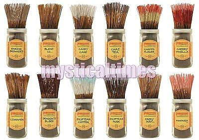 NEW WILD BERRY INCENSE 50 x FULL SIZE STICKS VARIOUS SCENTS WITH FREE POSTAGE
