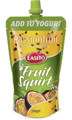 EasiYo Fruit Squirt Passionfruit (Add any other sachet and SAVE on Postage)