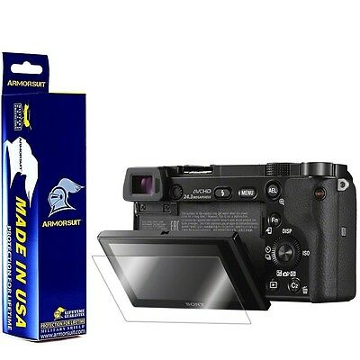 ArmorSuit MilitaryShield - Sony Alpha a6000 Screen Protector Brand NEW!