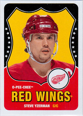 2010-11 O-Pee-Chee YZERMAN Marquee Legend SP Retro #595 Red Wings OPC UD STEVE