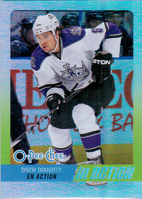 2010-11 O-Pee-Chee DOUGHTY In Action #14 Los Angeles Kings OPC UD DREW