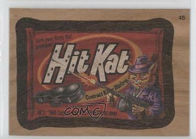 2015 Topps Wacky Packages #45 Hit Kat Think Smaller Ad Non-Sports Card 0c4
