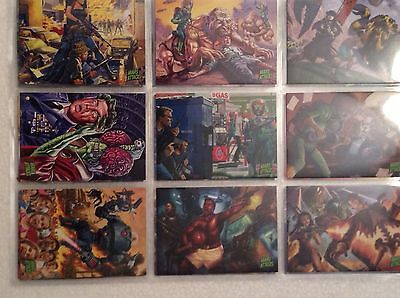 Topps Mars Attacks Occupation 81 Card Set Plus Wrapper KickStarter ONLY Product