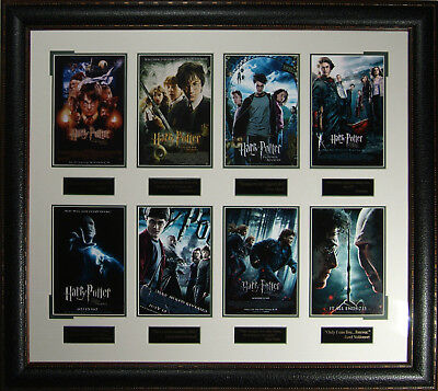 HARRY POTTER Framed Poster Collection - All 8 Movies