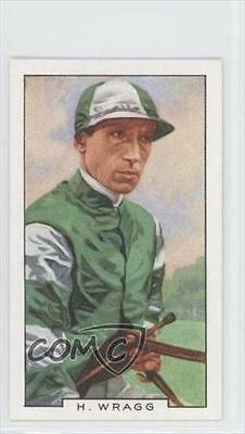 1936 Gallaher Famous Jockeys Tobacco Base #9 Harry Wragg MiscSports Card 1h2