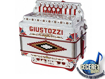 Giustozzi Button Accordian **BRAND NEW, MADE IN ITALY**