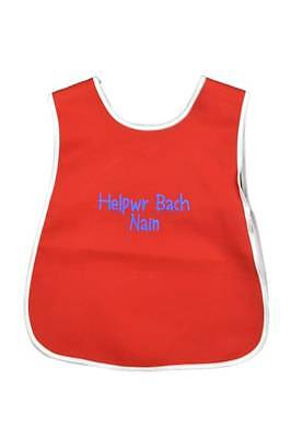 Embroidered Tabard 'Helpwr Bach Nain'.