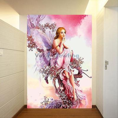 DIY 5D Diamond Painting Fairy Butterfly Embroidery Cross Stitch Craft Home Decor