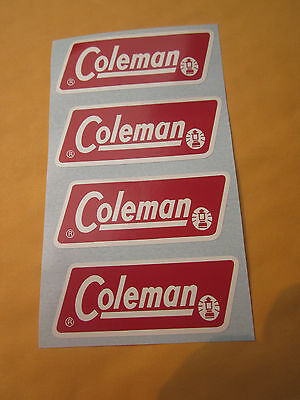 New Coleman Gas Lantern Part. (4) Professionally Made Decals. 1971-1983 Lanterns