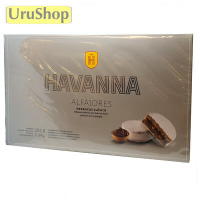 F25 Indulgent Alfajores Havanna Dulce De Leche Sugar/meringue Coated X 6 Luxury!