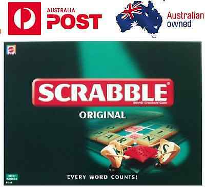 SCRABBLE GAME Family Board Game Kid  Adult Educational Toy Hot Fun Party Game