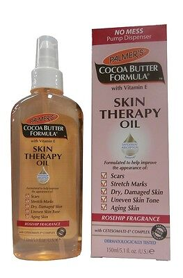 Palmers Cocoa Butter Formula Skin Therapy Oil with Cetesomate-E Complex 150ml