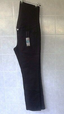 Target Black Stretch Maternity Jeans - Straight Leg - BNWT RRP $40 -Size 16