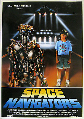 Mini Poster film SPACE NAVIGATORS 1993 Al Maker Jesse Dann Jeanna Belle