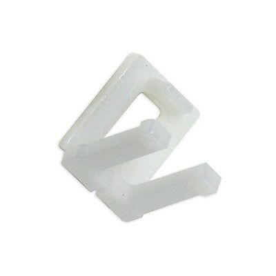 """Plastic Buckles Poly Strapping Buckles, 1/2"""", 1000/Case"""