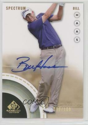 2014 SP Game Used Edition Spectrum Autograph Autographed #8 Bill Haas Auto 2d9