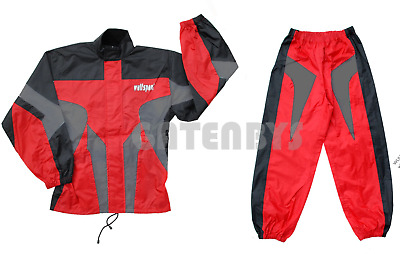 Wulfsport Kids Waterproof Suit (All Sizes) Motocross Quad Trials Youth Oversuit