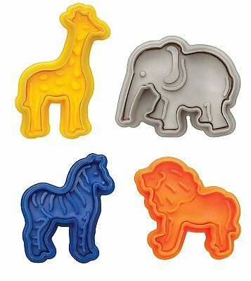 Harold Mrs Anderson's Baking Animal Cracker Cookie Pastry Biscuit Cutters 4-Pack