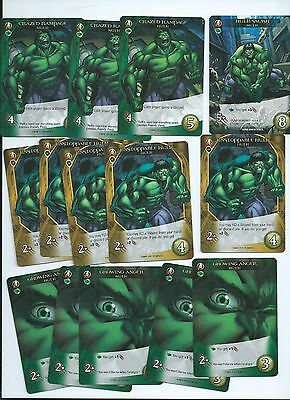 2015 Marvel 3-D legendary Hulk lot of 14