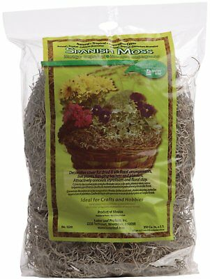 Luster Leaf All Natural Decorative Spanish Moss, 180 Cubic Inches, Garden & Yard