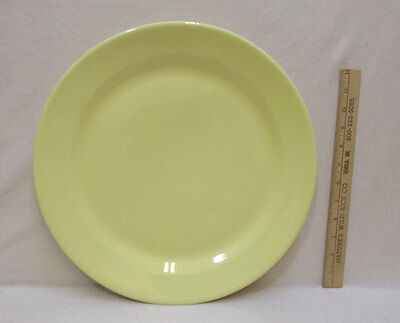 LuRay Round Dinner Platter Plate Tray TS&T Sunshine Yellow Pastels USA Made