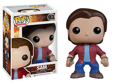 Funko Pop TV Supernatural Sam Vinyl Action Figure 3735 Collectible Toy, 3.75""