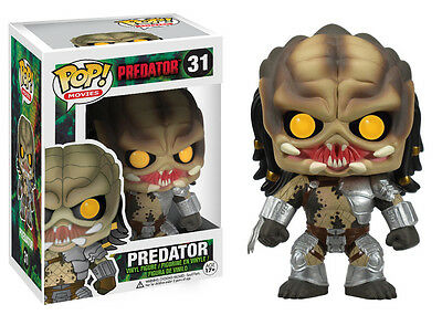 Funko Pop Horror Movies Predator Vinyl Action Figure 3144 Collectible Toy, 3.75""