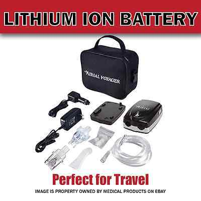 NEW - Complete Portable Travel Nebulizer with Lithium Battery by Drive Medical
