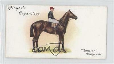 1933 Player's Derby and Grand National Winners Tobacco Base #4 Sunstar Card 1m8