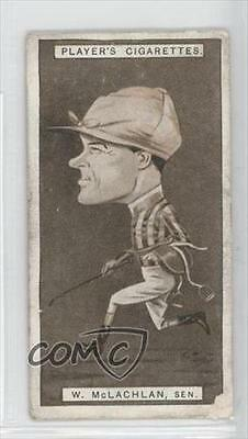 1925 Player's Racing Caricatures Tobacco Base #27 William Henry McLachlan 1m8